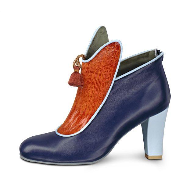 מגפונים לנשים בעיצוב מיוחד, נעליים מגניבות של מעצבת נעליים אפנתית - נעליים אונליין, נעלי נשים מיקה דרימר