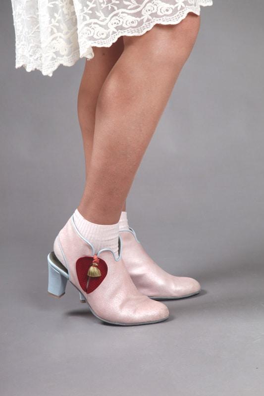 נעלי עקב נוחות נעלי אופי - נעליים אונליין, נעלי נשים מיקה דרימר
