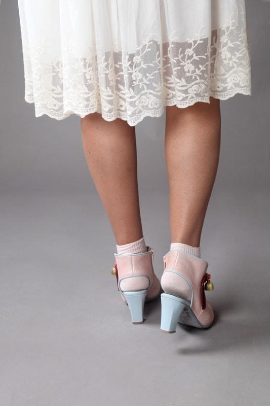 נעלי עקב נוחות נעליים אלגנטיות - נעליים אונליין, נעלי נשים מיקה דרימר