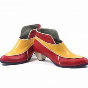 נעלי עקב נוחות דגם עלי זהב - נעליים אונליין, נעלי נשים מיקה דרימר