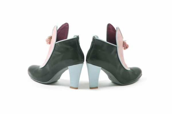 מגפון חצי מגף לנשים - נעליים אונליין, נעלי נשים מיקה דרימר
