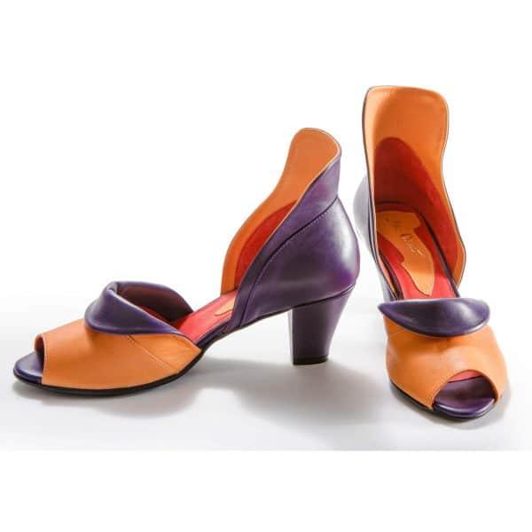 סנדלי עקב לנשים - נעליים אונליין, נעלי נשים מיקה דרימר