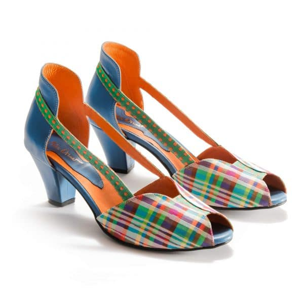 סנדלי עקב נוחות ומעוצבות - נעליים אונליין, נעלי נשים מיקה דרימר
