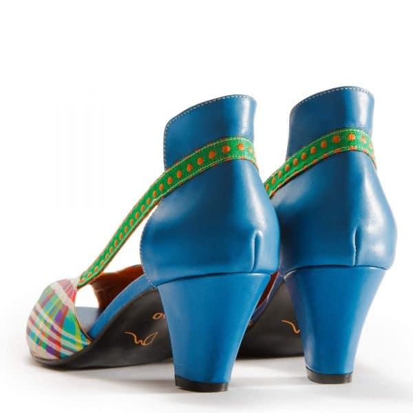 סנדלי עקב צבעוניות וייחודיות - נעליים אונליין, נעלי נשים מיקה דרימר