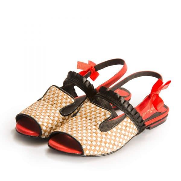 סנדלי עקב אפנתיות - נעליים אונליין, נעלי נשים מיקה דרימר
