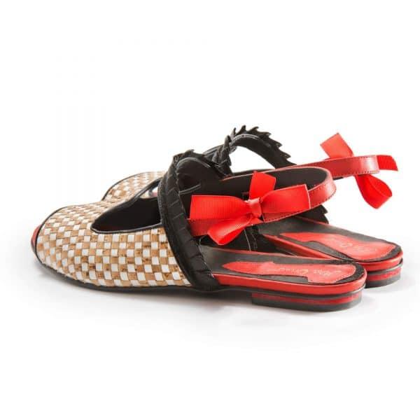 סנדלי עקב מעוצבות - נעליים אונליין, נעלי נשים מיקה דרימר