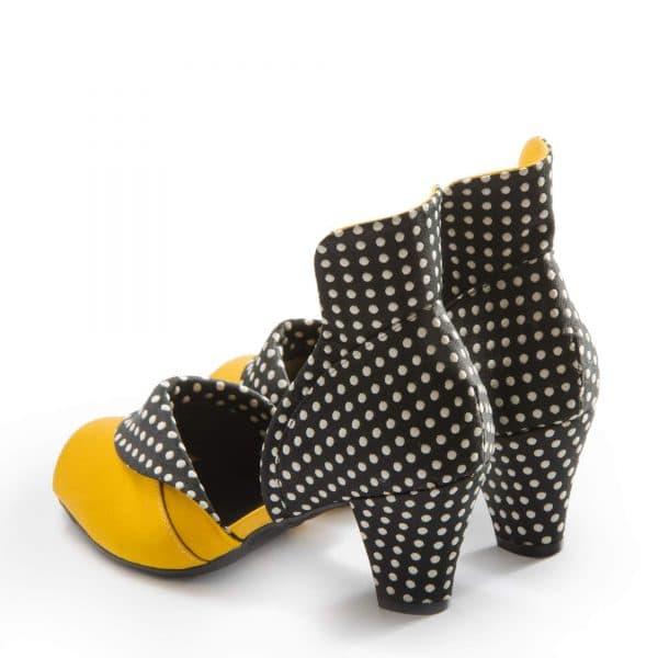 נעלי עקב נוחות במראה ייחודי ואלגנטי - נעליים אונליין, נעלי נשים מיקה דרימר