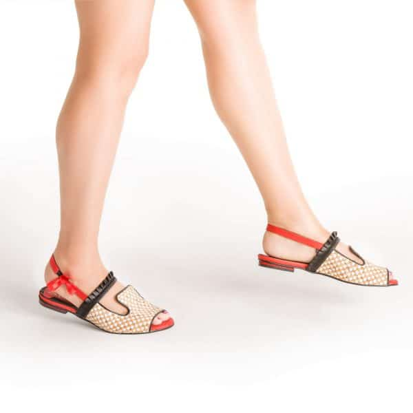 סנדלים לנשים קולקציית קיץ 2017 של מעצבת הנעליים מיקה דימר - נעליים אונליין, נעלי נשים