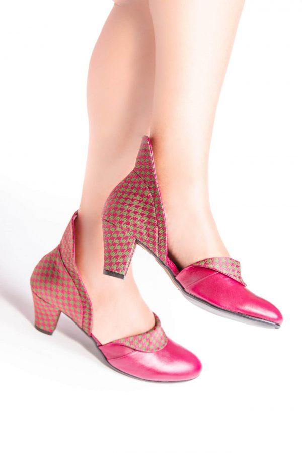נעלי סירה עקב, נעלי סירה לנשים, נעל סירה - נעליים אונליין, נעלי נשים מיקה דרימר