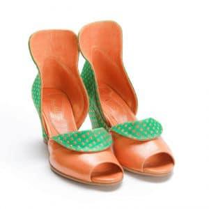 סנדלי עקב עקבים - נעליים אונליין, נעלי נשים מיקה דרימר