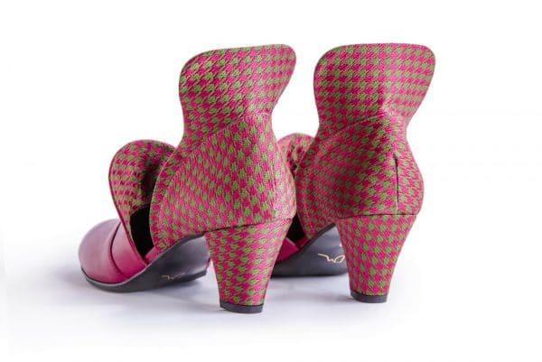 נעלי סירה עקב מעור, נעלי סירה לנשים קולקציית חורף 2018 בעיצוב שונה ובגוונים ססגוניים - נעליים אונליין, נעלי נשים של מעצבת הנעליים הישראלית מיקה דרימר