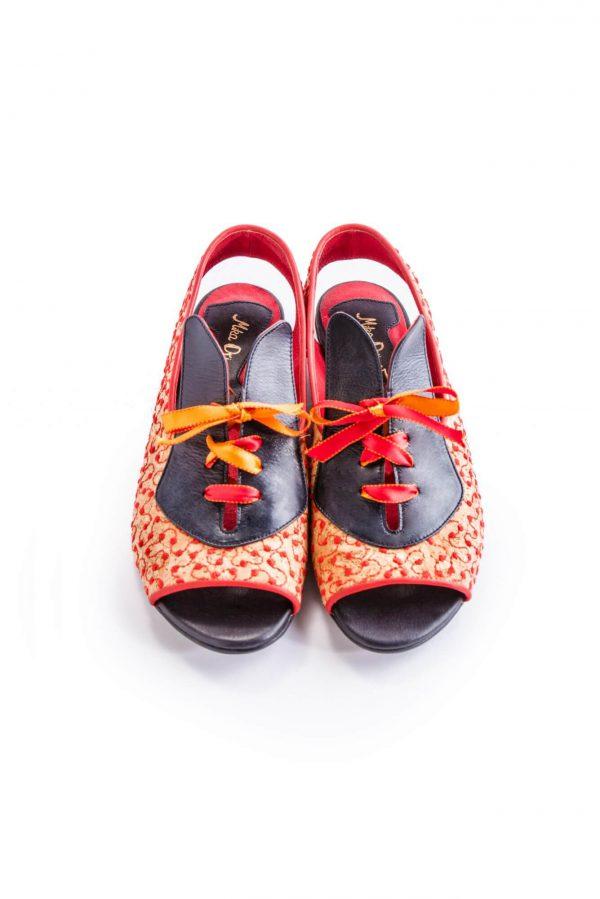 סנדלים לנשים מעצבי נעליים ישראלים - נעליים אונליין, נעלי נשים מיקה דרימר