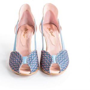 סנדלי עקב מדהימות - נעליים אונליין, נעלי נשים מיקה דרימר