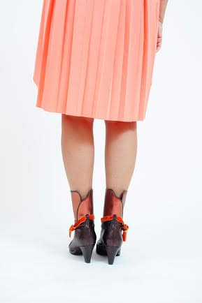 נעל סירה דגם dark chocolate - נעליים אונליין, נעלי נשים מיקה דרימר