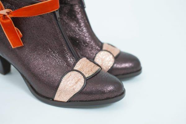 תמונות של מגפוני נשים מעוצבות בגוונים מיוחדים קולקציית חורף 2018 - נעליים אונליין, נעלי נשים מיקה דרימר