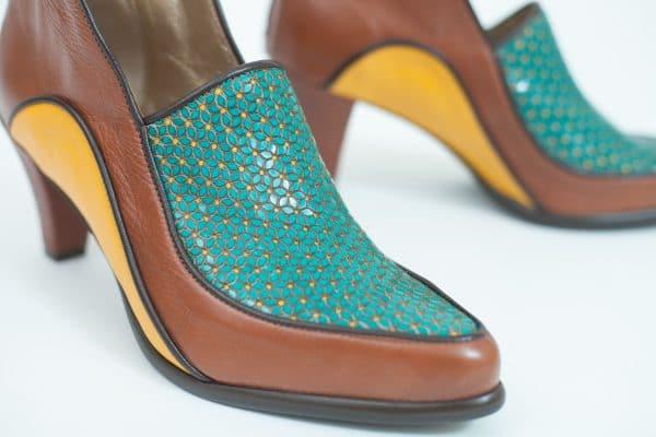נעלי עקב יוקרתיות וקלסיות בעיצוב מיוחד - נעליים אונליין, נעלי נשים מיקה דרימר
