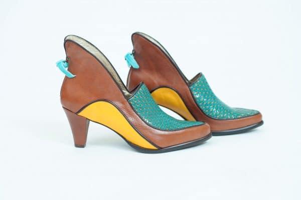 נעלי עקב קולקציית 2017 בעיצוב מיוחד וגוונים שונים - נעליים אונליין, נעלי נשים מיקה דרימר