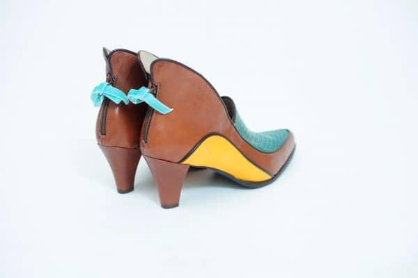 נעלי עקב קולקציית סתיו 2017 בעיצוב מיוחד וגוונים שונים - נעליים אונליין, נעלי נשים מיקה דרימר