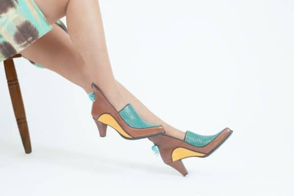 נעלי עקב בעיצוב ייחודי ובגוונים מיוחדים - נעליים אונליין, נעלי נשים מיקה דרימר