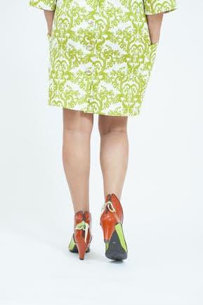 מגפוני נשים גבוהות חצי מגף לנשים קולקציית חורף 2018 - נעליים אונליין, נעלי נשים מיקה דרימר