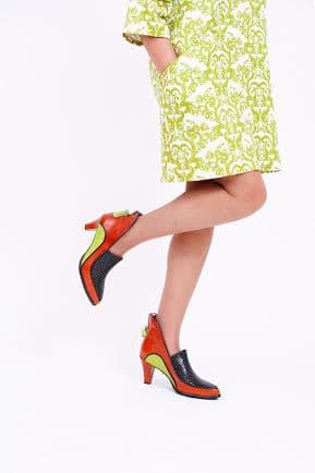 מפוני נשים, חצי מגף לנשים, מגפונים לנשים, מגפיים לנשים - נעליים אונליין, נעלי נשים מיקה דרימר