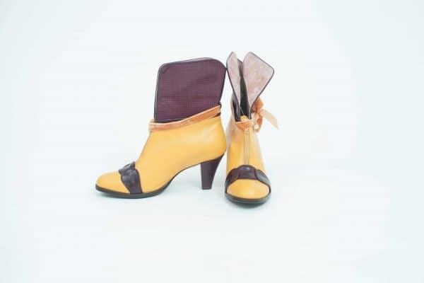 מגפוני עור לנשים חורף 2018 למכירה אונליין - נעליים אונליין, נעלי נשים מיקה דרימר