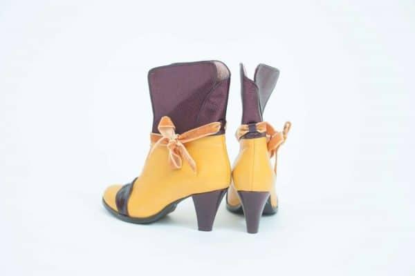 מגפוני נשים חורף 2018 בעיצוב ייחודי ובגוונים ססגוניים - נעליים אונליין, נעלי נשים של מעצבת הנעליים הישראלית מיקה דרימר