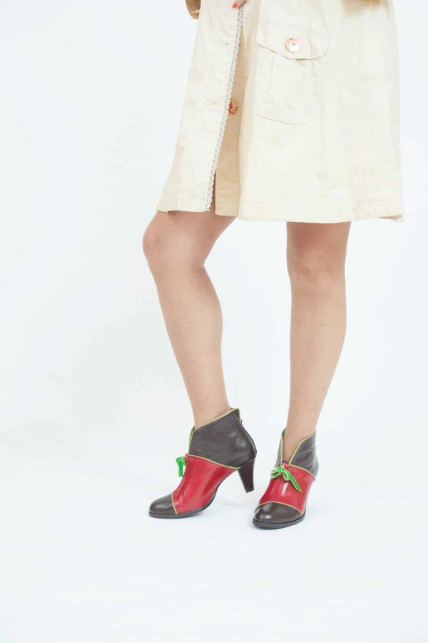 נעלי סירה עם עקב- נעליים אונליין, נעלי נשים מיקה דרימר