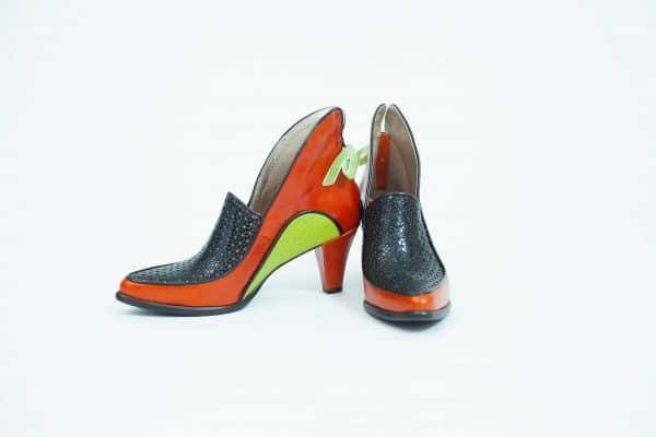 מגפונים לנשים דגם Chocolate orange chocolate and mint - נעליים אונליין, נעלי נשים מיקה דרימר