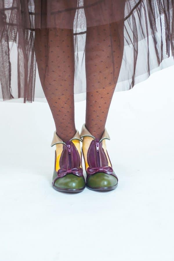 מגפונים לנשים דגם אפטר אייט - נעליים אונליין, נעלי נשים מיקה דרימר